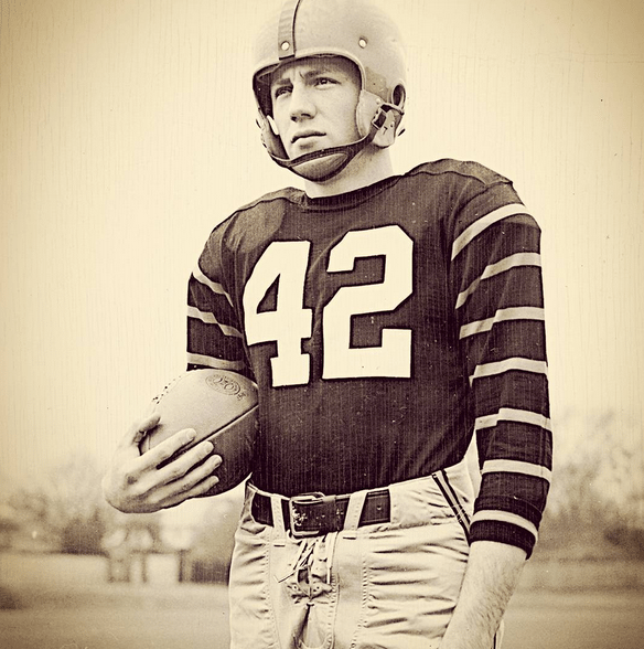 1951 Heisman Winner Dick Kazmaier. Kaz was named the Ivy League Football Player of the Decade to go with being the last Heisman winner from an Ivy League school.