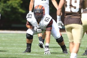 Princeton University football at Lehigh University, Bethlehem, PA, September 24, 2016.