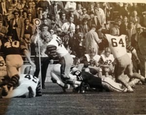 Bob Weber Makes Yards Against Brown