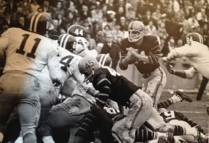 Dick Bracken runs against Harvard